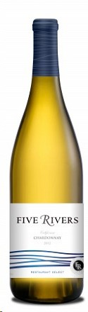 Five Rivers Chardonnay Restaurant Select 2012