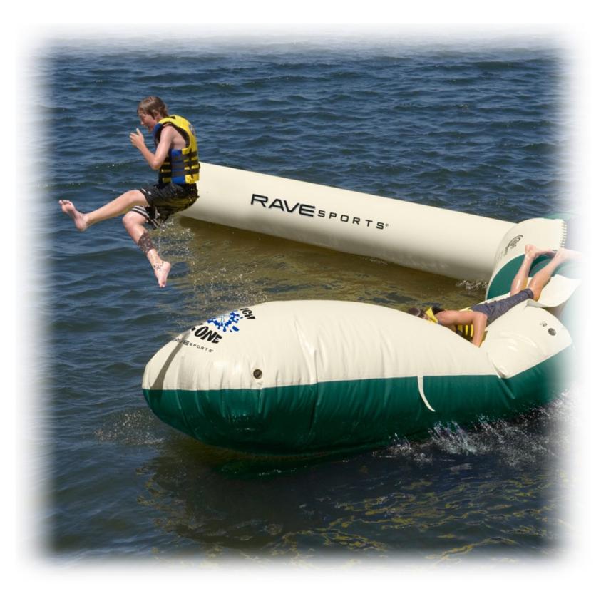 Rave Aqua Launch Attachment - Northwood's Edition Water Trampoline Attachment