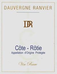 Dauvergne-Ranvier Cote-Rotie Vin Rare 2009