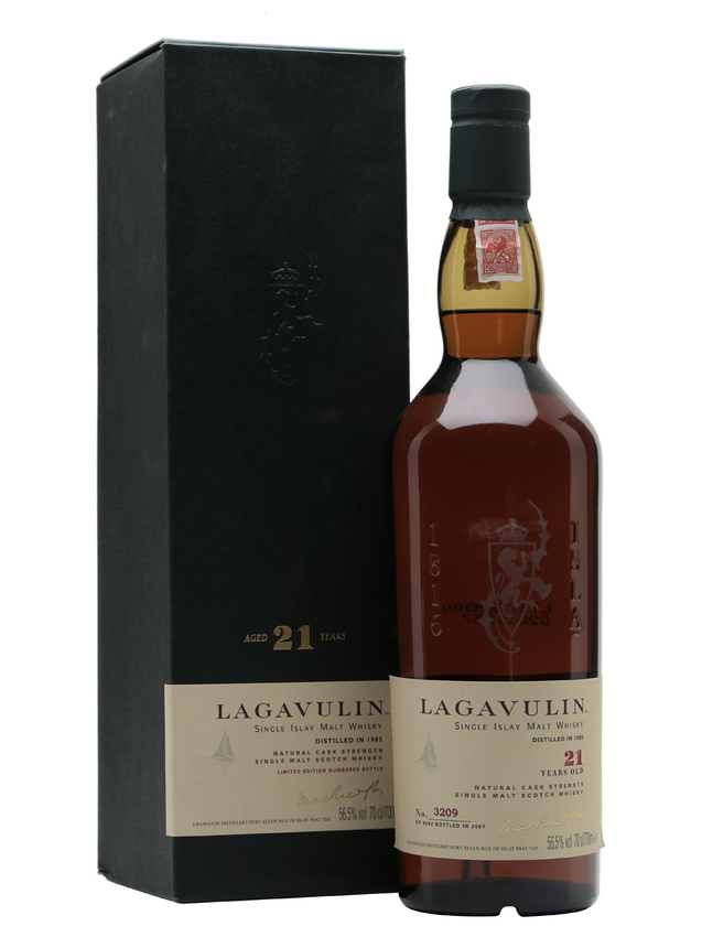 Lagavulin 1985 21 Year Old Sherry Cask