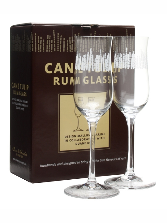 Cane Tulip Rum Glass Pack Gift Set
