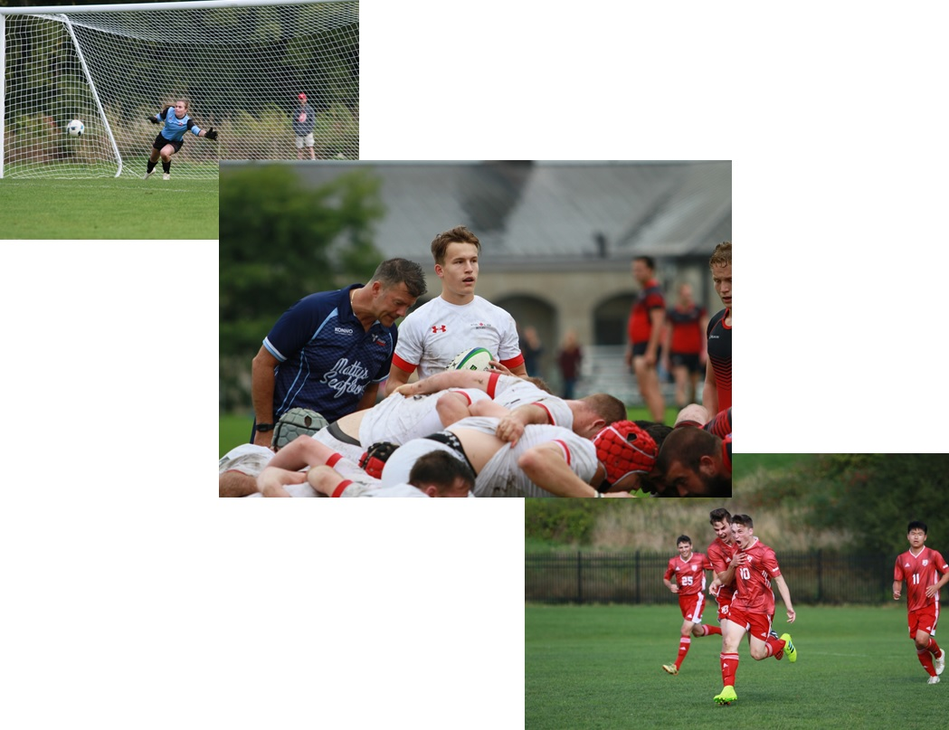 Sports: Varsity Exhibition Games, Club Action, Army Run & Much More!