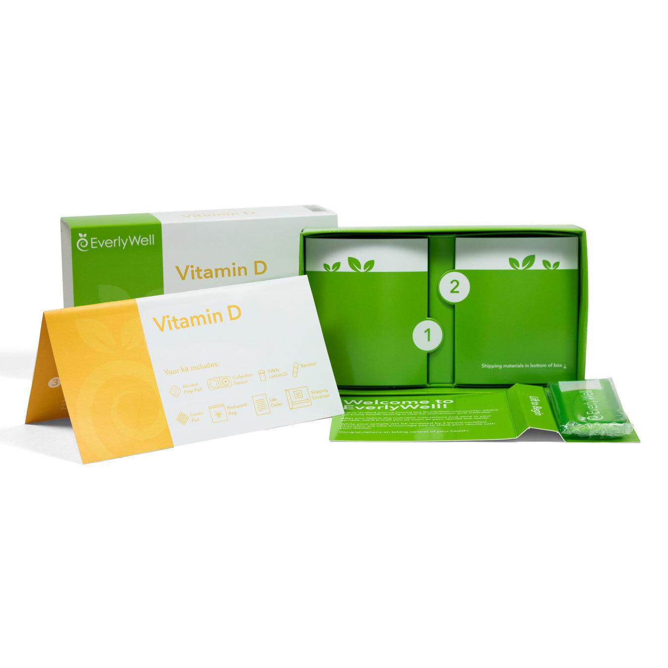 vitamin d deficiency test open box