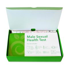 Open at-home STD Test box