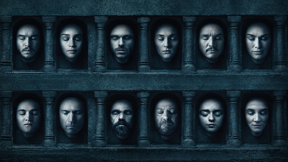 faces - game of thrones