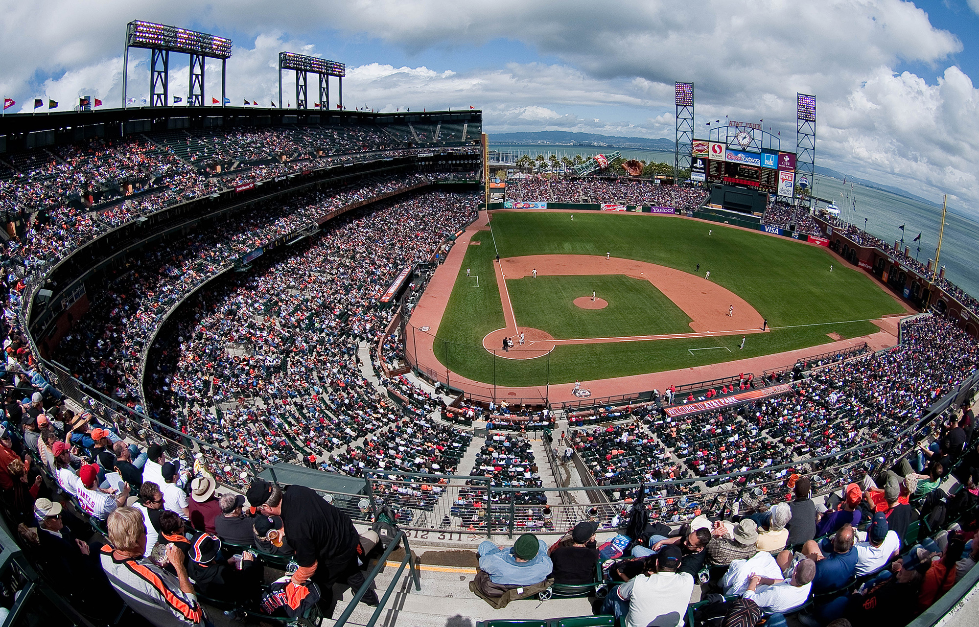 AT&T park - Giant's Home