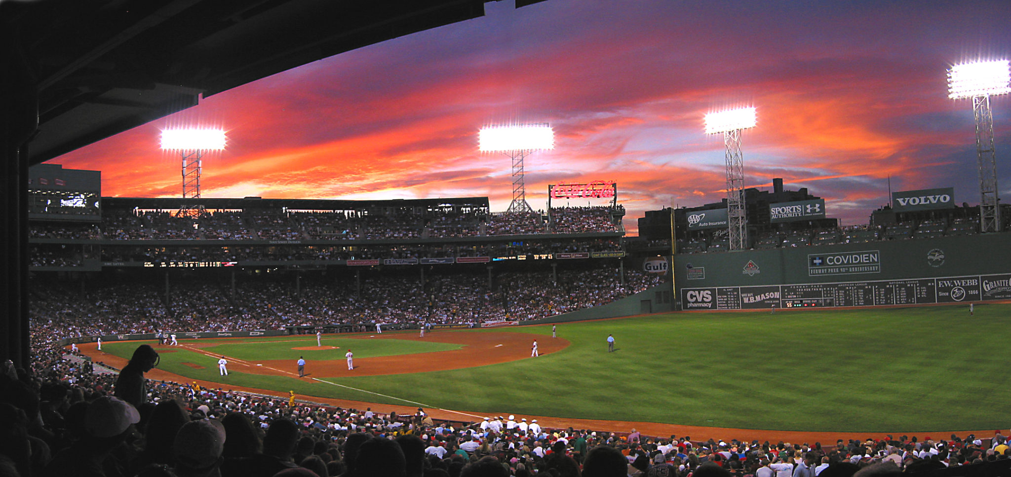 Fenway Park - baseball at night