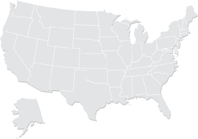 Map of the united stated