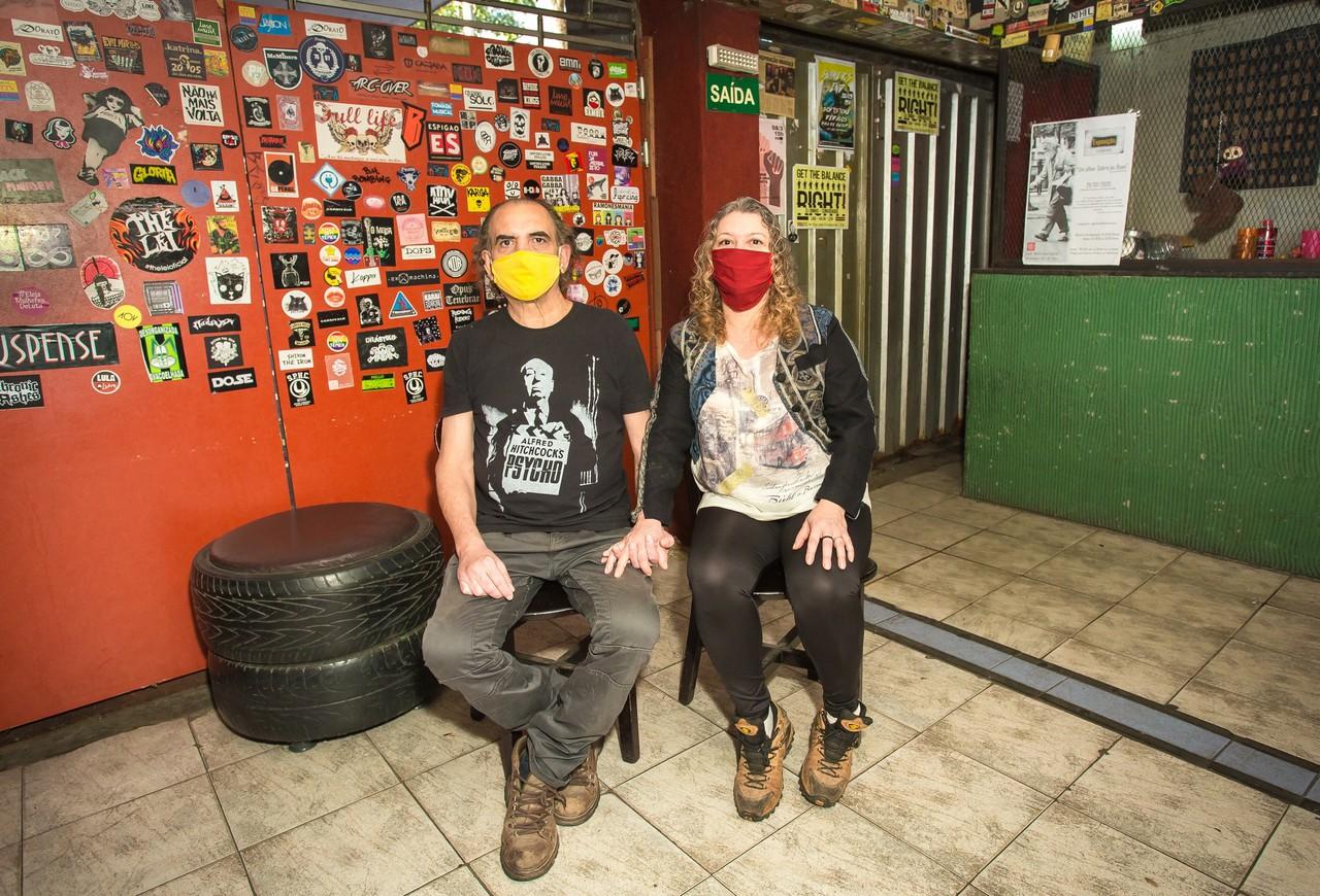 Edmundo e Andra Correa na Matriz Casa Cultural