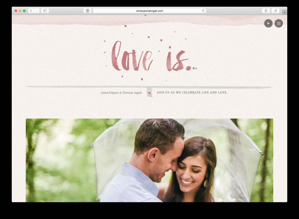 33 Examples Of Amazing Wedding Websites