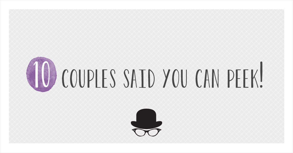 real couples wedding websites