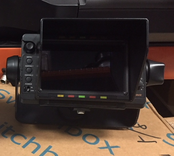 Sony HDVF-C550W View Finder | Professional Video Equipment | Allied Broadcast