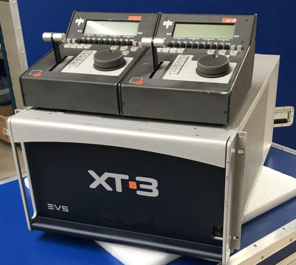 EVS XT-3 REPLAY AND MEDIA SERVER