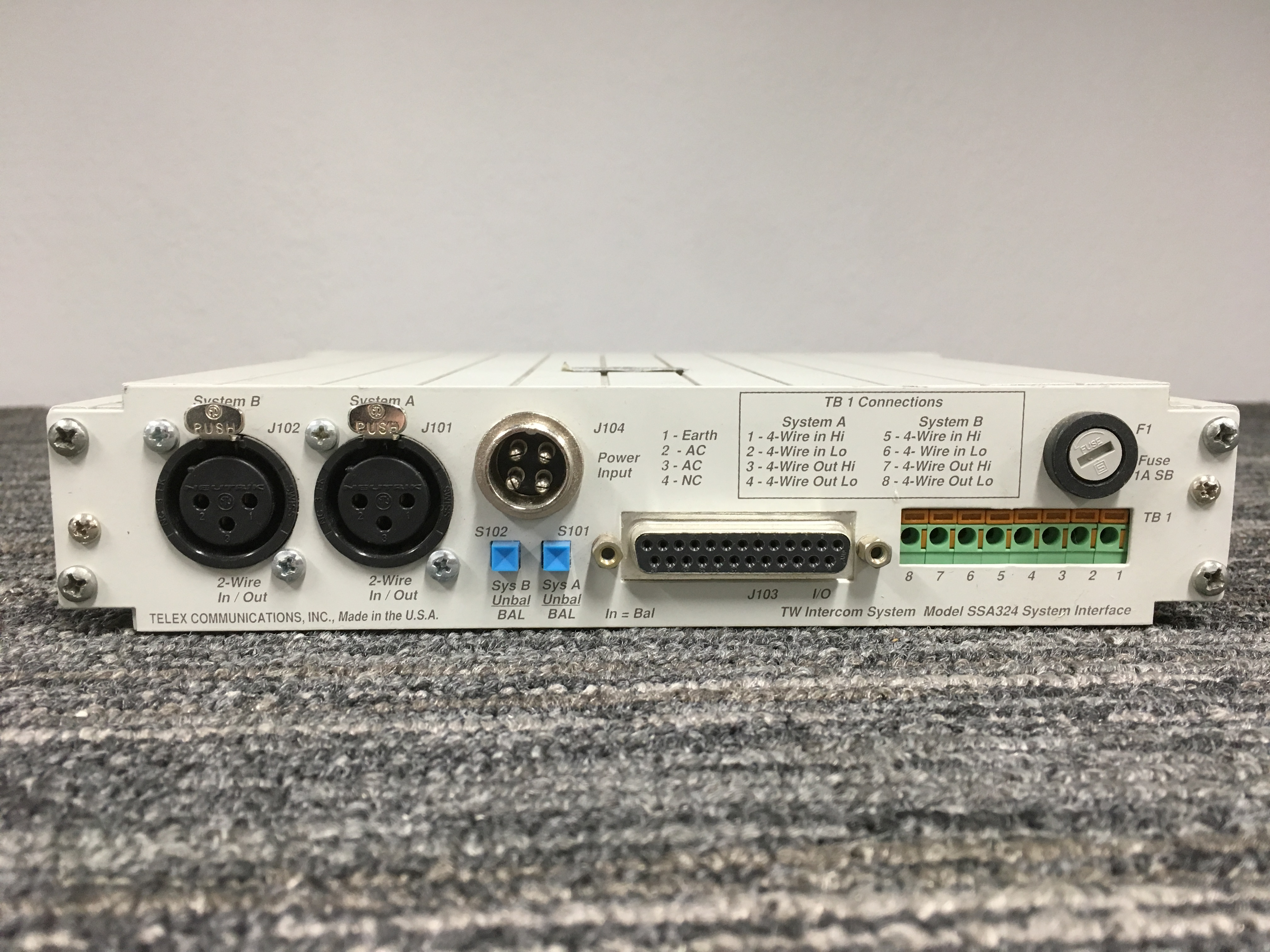 RTS SSA-324