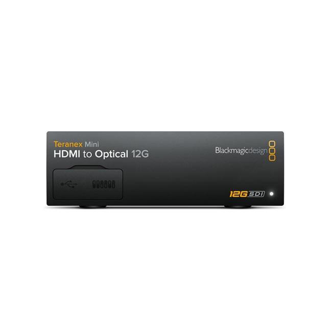 Blackmagic Teranex Mini - HDMI to Optical 12G