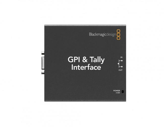 Blackmagic GPI & Tally Interface