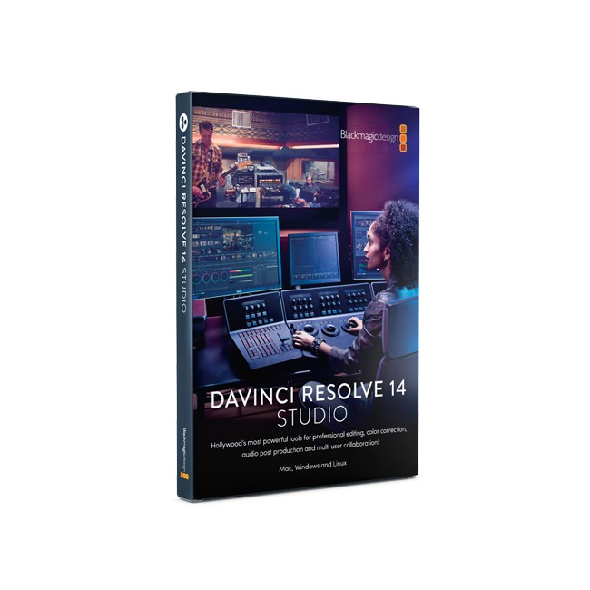 Blackmagic DaVinci Resolve 14 Studio (Dongle)