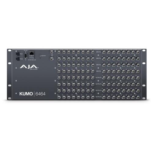 AJA KUMO 6464 Compact 64x64 3G-SDI Router