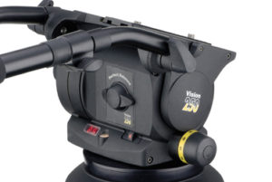 Vinten Vision 250 Head (Black) with Quick Release Plate and Two Arms
