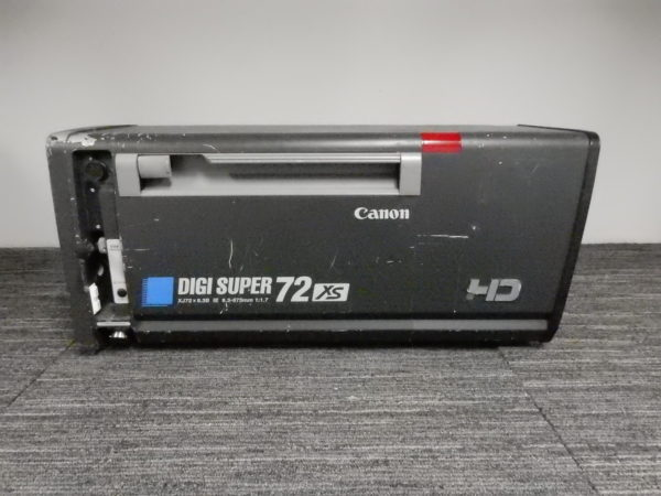 Canon Digi Super XJ72x9.3B IE with Controls and OEM Sled - USED