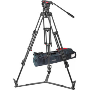 Sachtler FSB 10 ENG 2 D Aluminum Tripod System with Sideload Plate