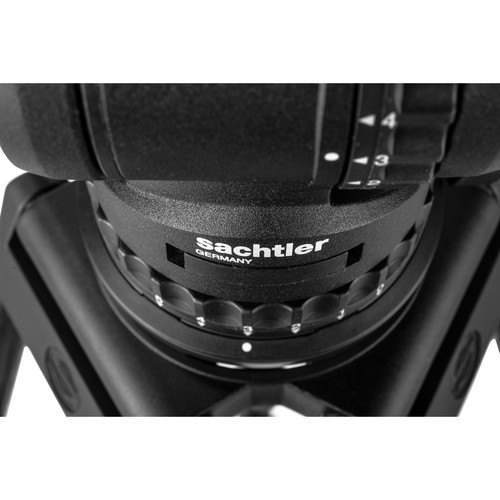 Sachtler FSB 10 ENG 2 MCF Carbon Fiber Tripod System with Sideload Plate (100mm)