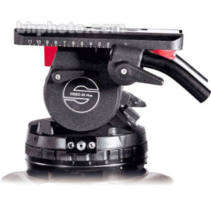 Sachtler Video 25 Plus Fluid Head (150mm Ball Base)