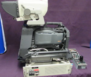 Sony ENG Camera, CCU, RCP, and VF