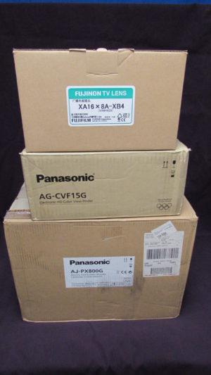 Panasonic Camera with Fujinon Lens