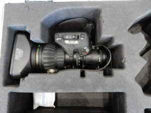 Fujinon HA22x7.8 with Case