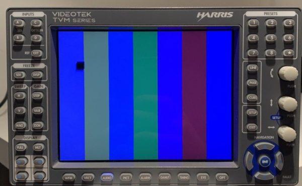 VideoTek Harris Waveform Monitor
