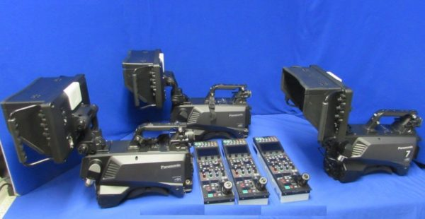 Panasonic 4K Studio Package - Includes 3 AK-UC3000 cameras and more! -USED