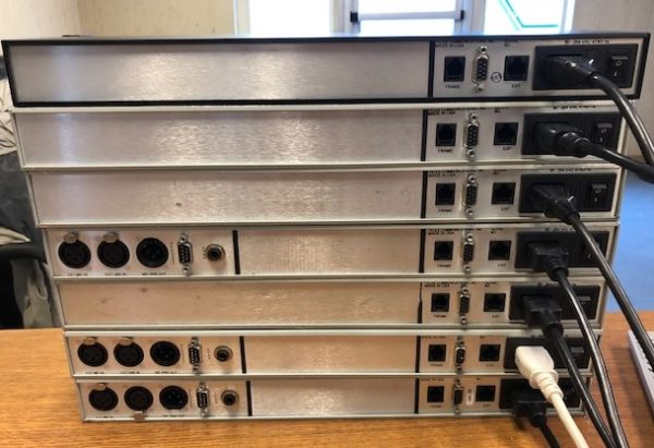 RTS Intercom Systems KP-12 Rackmountable 12-Position Keypanel - Used