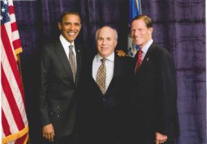 President Obama with Attorney Stewart Casper