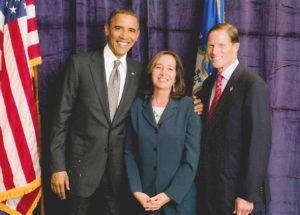 President Obama and Attorney Victoria de Toledo