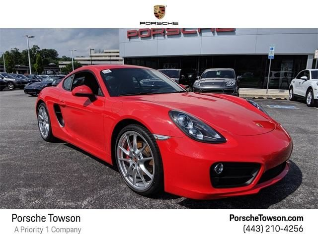 2015 Cayman 2dr Cpe S picture #1