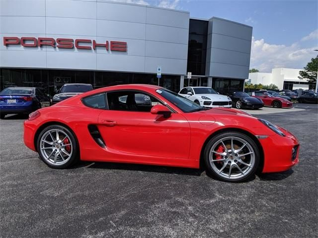 2015 Cayman 2dr Cpe S picture #2
