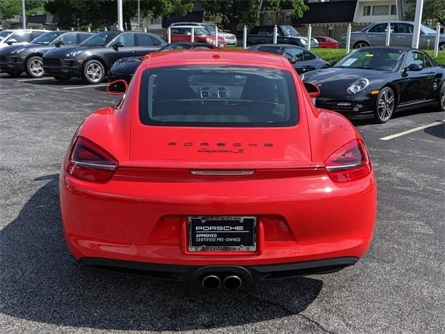 2015 Cayman 2dr Cpe S picture #4