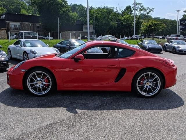 2015 Cayman 2dr Cpe S picture #6