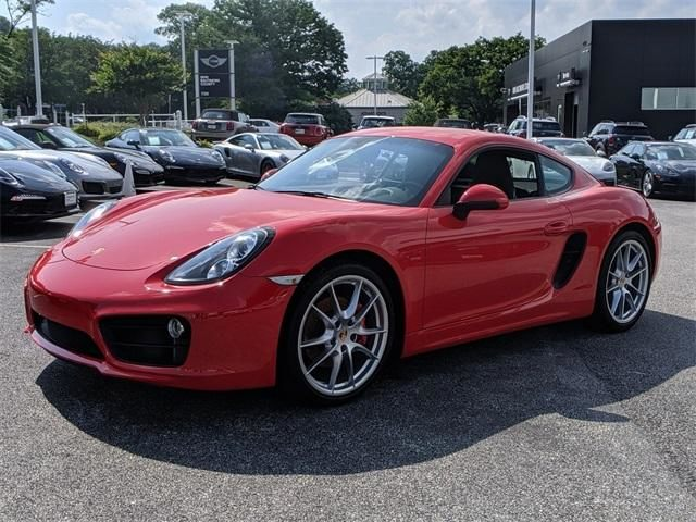 2015 Cayman 2dr Cpe S picture #7