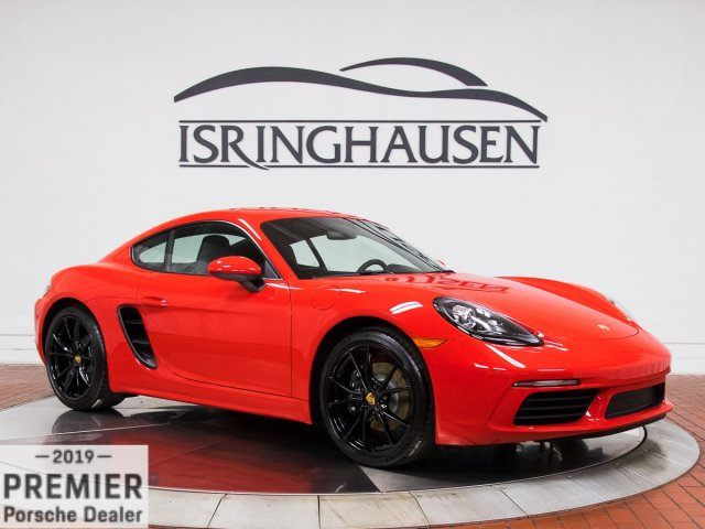 2018 718 Cayman picture #1