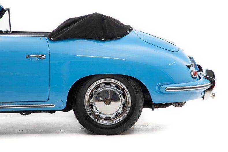 1964 356C Cabriolet picture #11