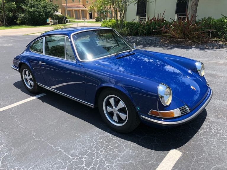 1970 911S California Salvage Title picture #1