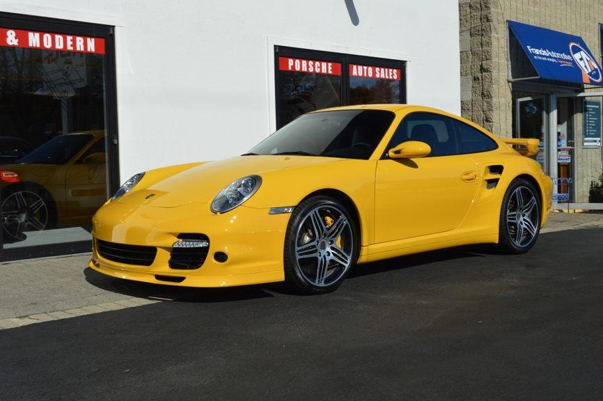 2009 Porsche Turbo Coupe Manual picture #1