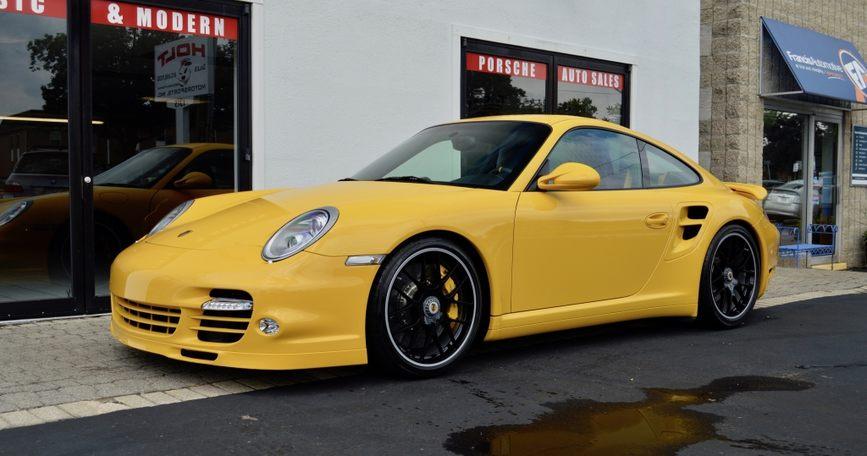 2011 Porsche Turbo S Coupe picture #1