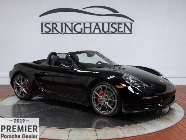 2017 Boxster 718 S picture #1