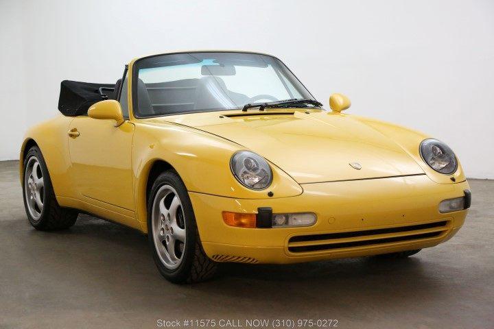 1996 993 Cabriolet picture #1
