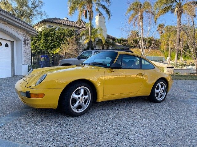 1995 Porsche 993 C2 Coupe picture #1