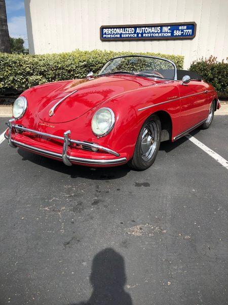 1958 356 Speedster picture #1