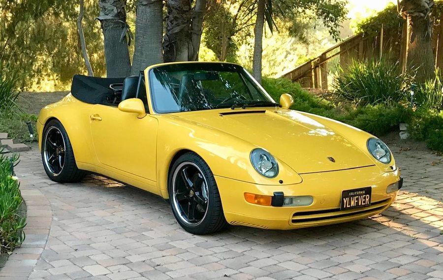 1995 993 C4 Cabriolet picture #1